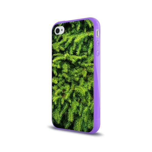 Чехол для Apple iPhone 4/4S силиконовый глянцевый  Фото 03, Я ёлка