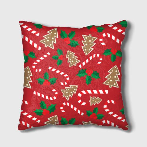 Подушка 3D  Фото 02, Новый год