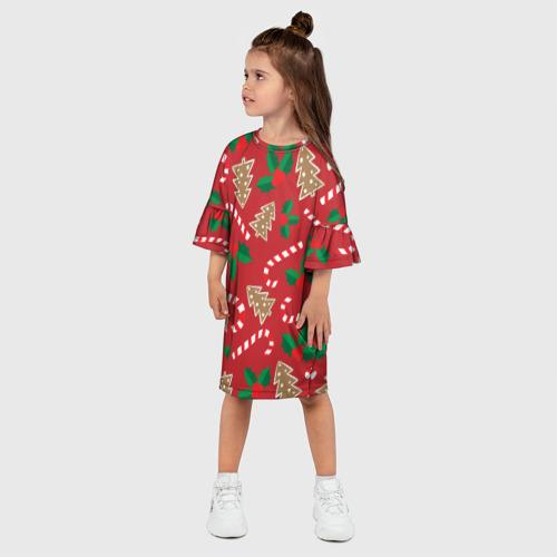 Детское платье 3D  Фото 03, Новый год