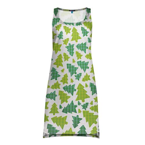 Платье-майка 3D Ёлочки