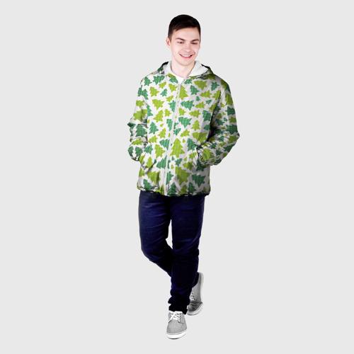 Мужская куртка 3D  Фото 03, Ёлочки