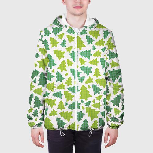 Мужская куртка 3D  Фото 04, Ёлочки