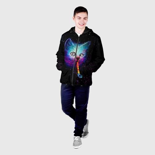 Мужская куртка 3D  Фото 03, Космокот