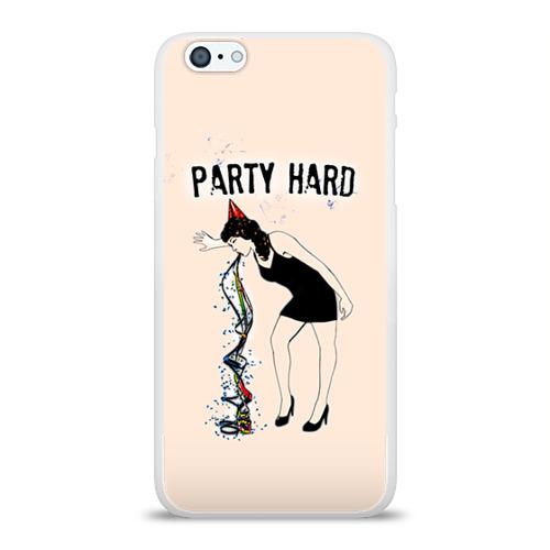 Чехол для Apple iPhone 6Plus/6SPlus силиконовый глянцевый  Фото 01, Party hard