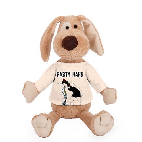 Собачка в футболке  Фото 01, Party hard