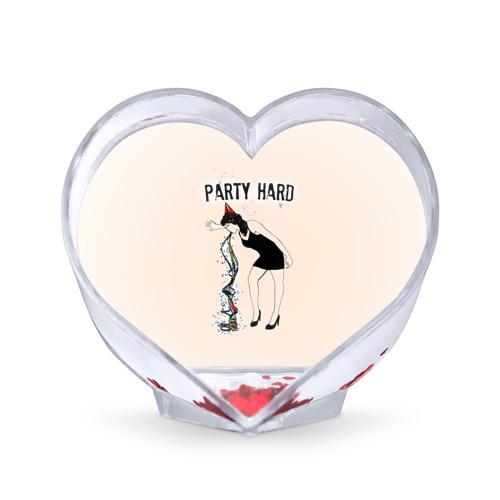 Сувенир Сердце  Фото 01, Party hard
