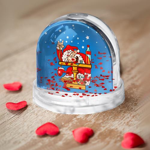 Водяной шар  Фото 03, Дед мороз