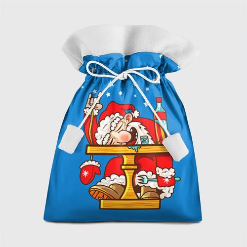 Подарочный 3D мешок Дед мороз от Всемайки