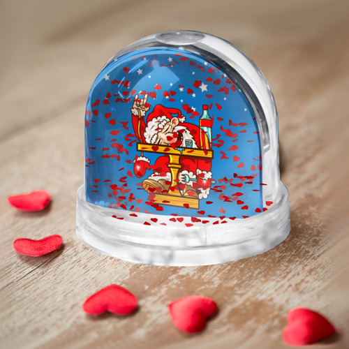 Водяной шар  Фото 04, Дед мороз