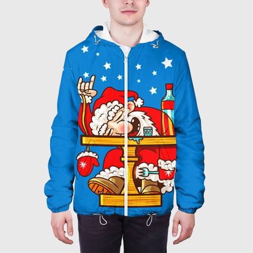 Мужская куртка 3D  Фото 04, Дед мороз