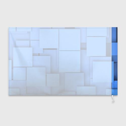 Флаг 3D Квадрат Фото 01