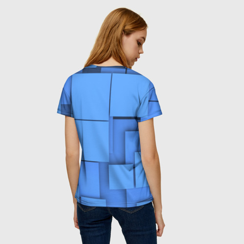 Женская футболка 3D Квадрат Фото 01