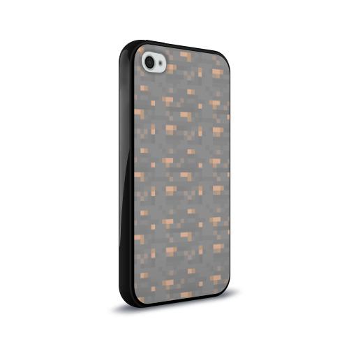 Чехол для Apple iPhone 4/4S силиконовый глянцевый  Фото 02, Железная руда