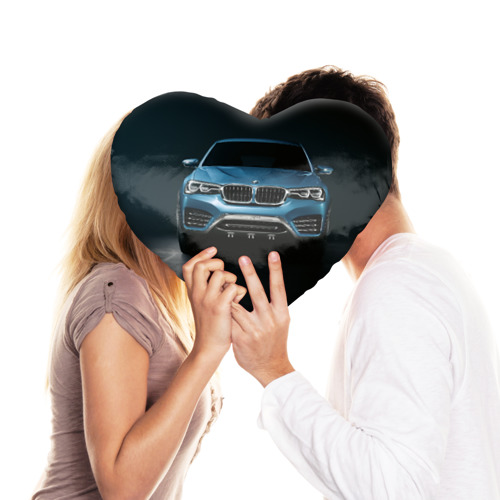 Подушка 3D сердце  Фото 03, BMW X4 Concept