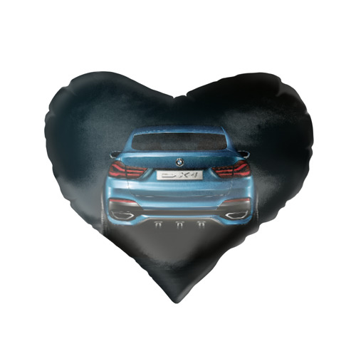 Подушка 3D сердце  Фото 02, BMW X4 Concept
