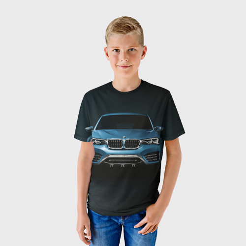 Детская футболка 3D BMW X4 Concept
