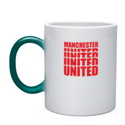 Manchester United red