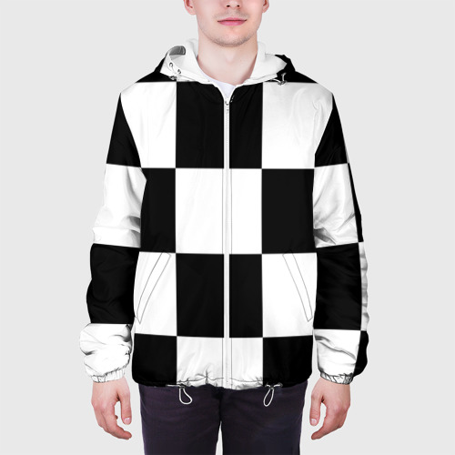 Мужская куртка 3D  Фото 04, Клетка