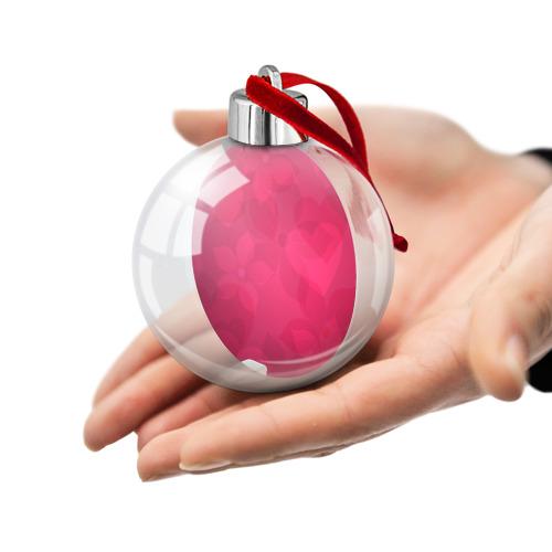 Ёлочный шар Pink Фото 01