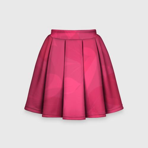 Детская юбка-солнце 3D Pink