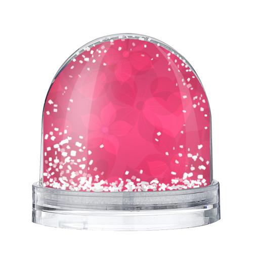 Водяной шар со снегом Pink