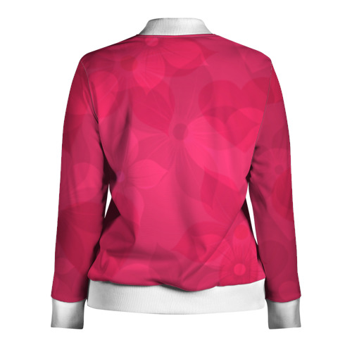 Женская олимпийка 3D  Фото 02, Pink