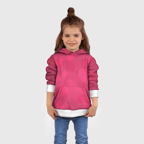Детская толстовка 3D Pink