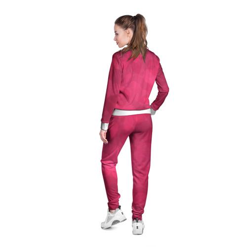 Женская олимпийка 3D  Фото 04, Pink