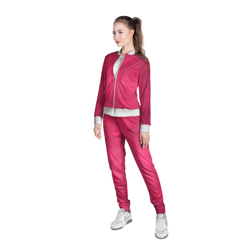 Женская олимпийка 3D  Фото 05, Pink