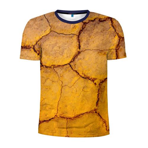 Мужская футболка 3D спортивная Earth