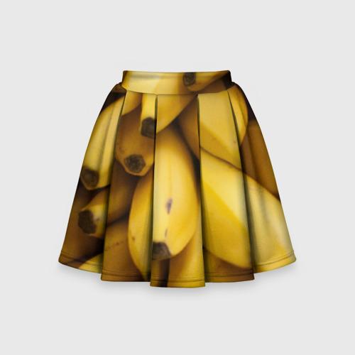 Детская юбка-солнце 3D Банан