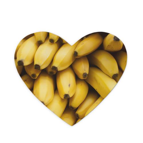 Коврик для мыши сердце  Фото 01, Банан