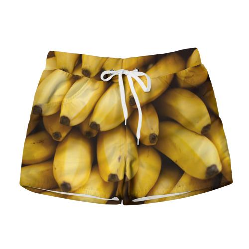 Женские шорты 3D Банан