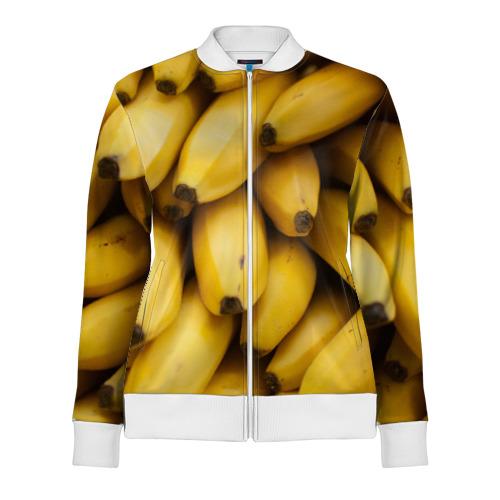 Женская олимпийка 3D  Фото 01, Банан