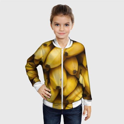 Детский бомбер 3D  Фото 06, Банан