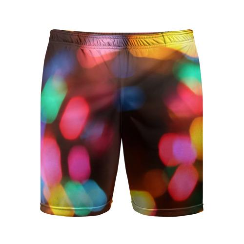 Мужские шорты 3D спортивные  Фото 01, Lights Long