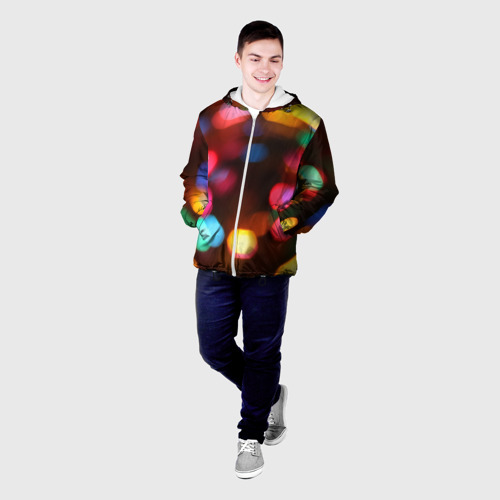 Мужская куртка 3D  Фото 03, Lights Long