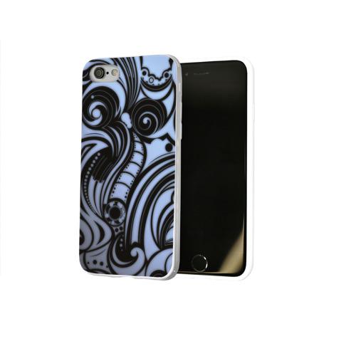 Чехол для Apple iPhone 8 силиконовый глянцевый  Фото 02, Art
