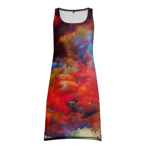 Платье-майка 3D Краски (Гранж)