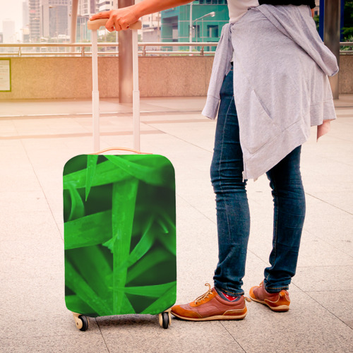 Чехол для чемодана 3D  Фото 04, Трава
