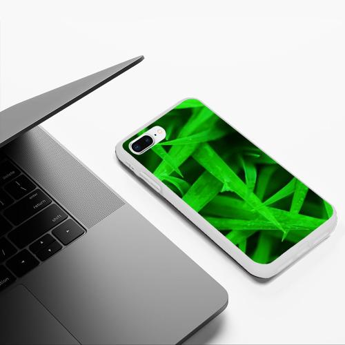 Чехол для iPhone 7Plus/8 Plus матовый Трава Фото 01