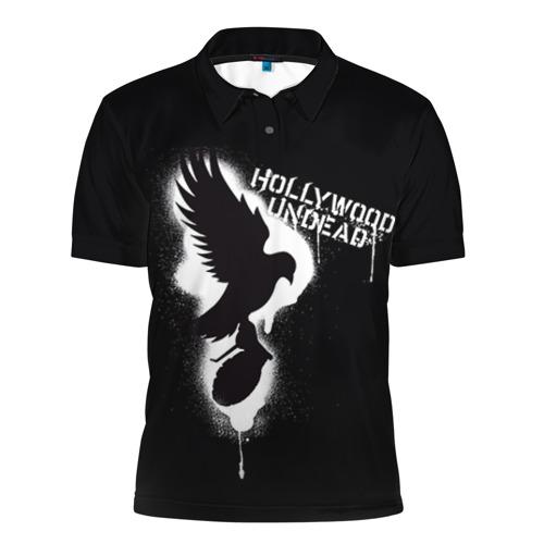 Мужская рубашка поло 3D Hollywood Undead