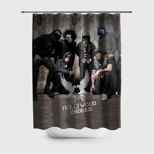 Штора для ванной Hollywood Undead от Всемайки