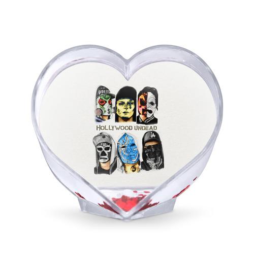 Сувенир Сердце Hollywood Undead от Всемайки