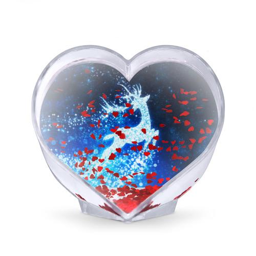 Сувенир Сердце  Фото 02, Новогодний олень