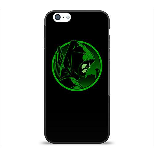 Чехол для Apple iPhone 6 силиконовый глянцевый Стрела от Всемайки