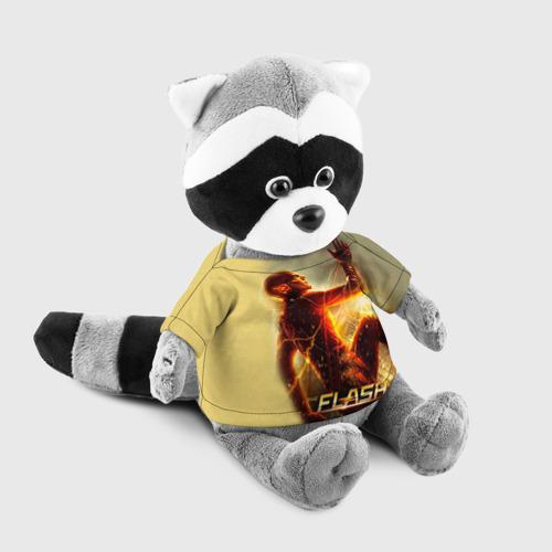Енотик в футболке 3D  Фото 03, Flash