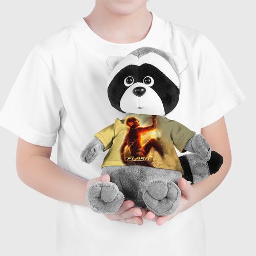 Енотик в футболке 3D  Фото 04, Flash