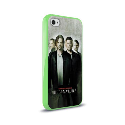 Чехол для Apple iPhone 4/4S силиконовый глянцевый  Фото 02, Supernatural