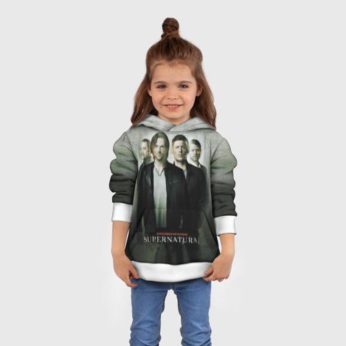 Детская толстовка 3D  Фото 01, Supernatural
